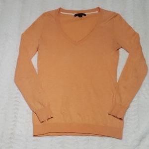 J.Crew orange creamsicle knit sweater guc